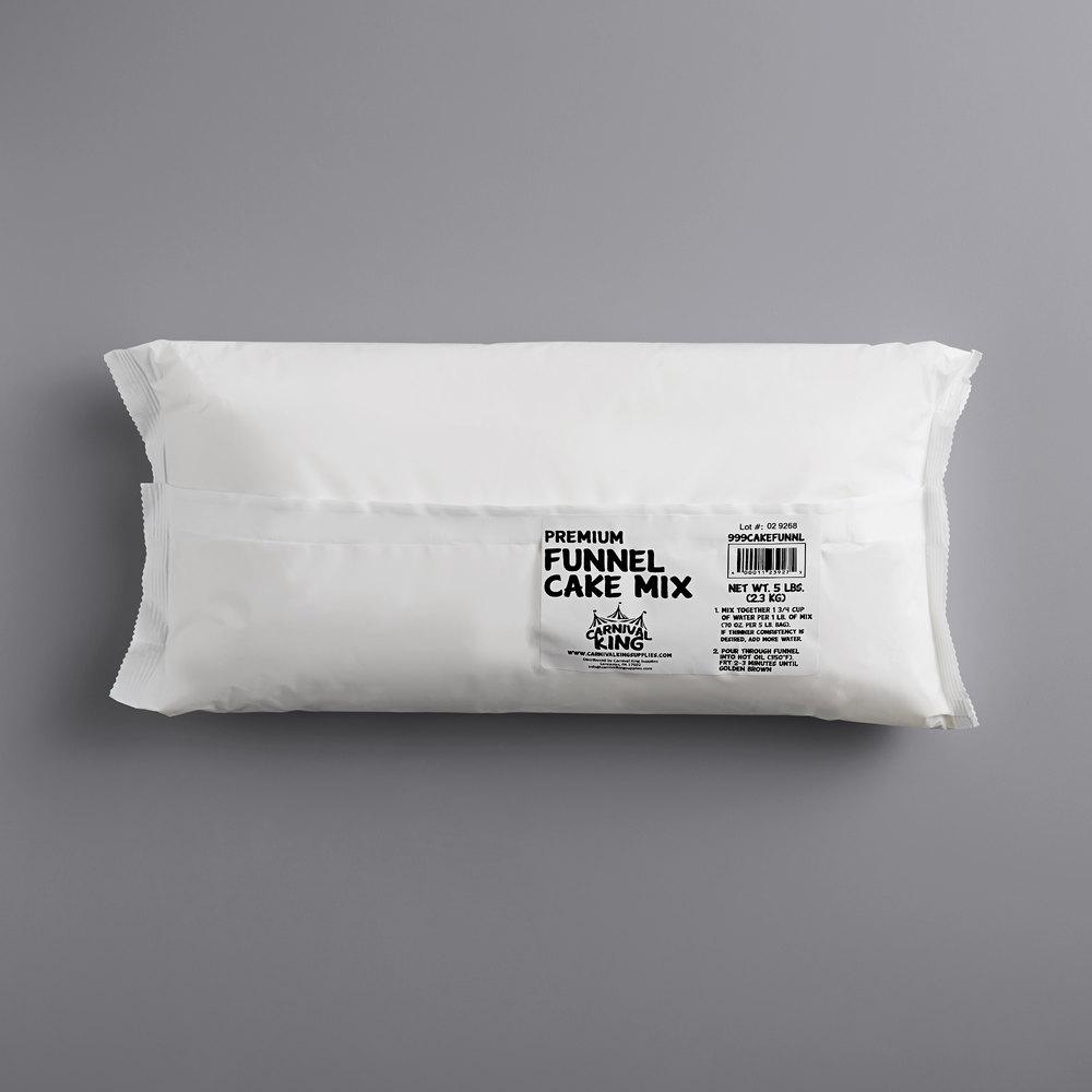 Carnival King 5 lb. Funnel Cake Mix - 6/Case