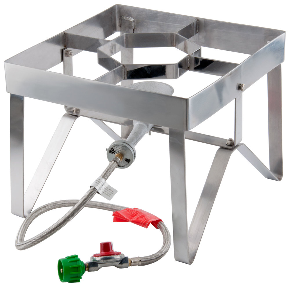 Backyard Pro Stainless Steel Single Burner Outdoor Patio