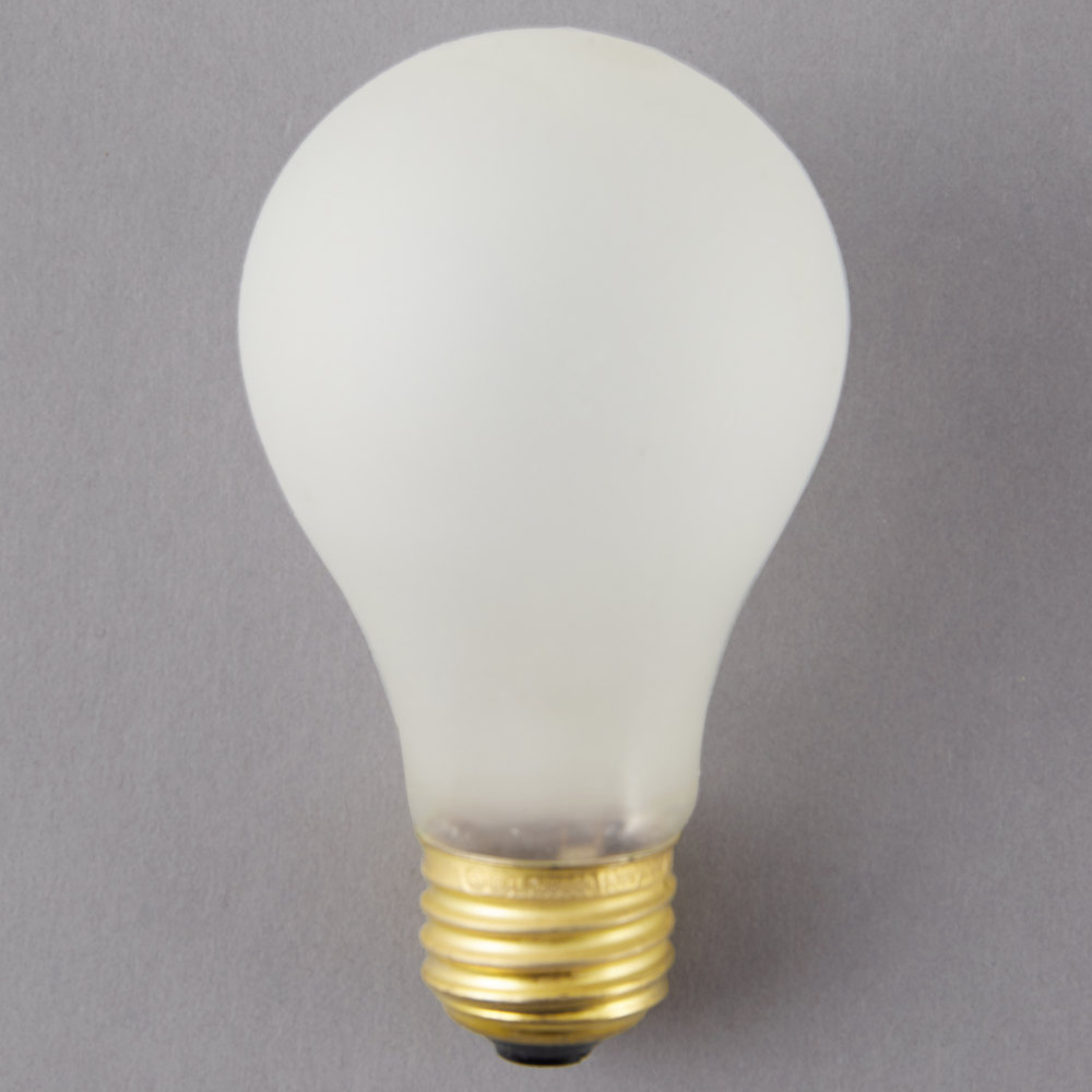 4 X 2 3 8 100 Watt Shatterproof Light Bulb 120v