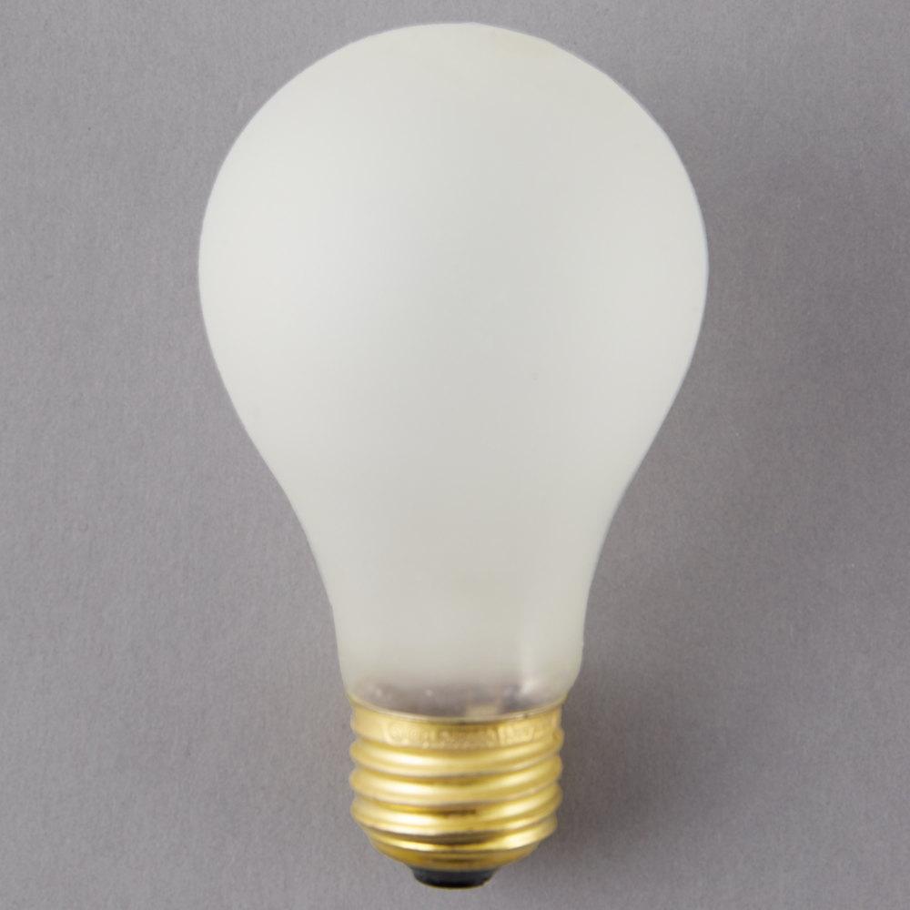 4 Quot X 2 3 8 Quot 100 Watt Shatterproof Light Bulb 120v