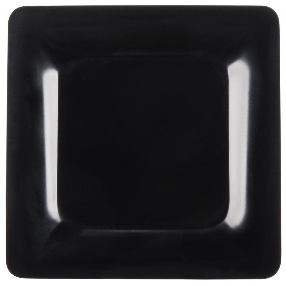 "Carlisle 4440003 Palette Designer Displayware Black 12"" x 12 ... for Square Plate Designs  104xkb"