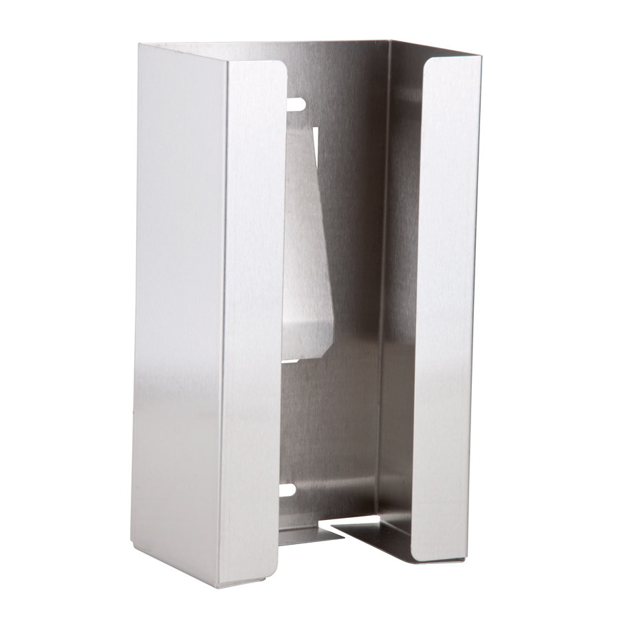 san jamar g0801 stainless steel disposable glove dispenser