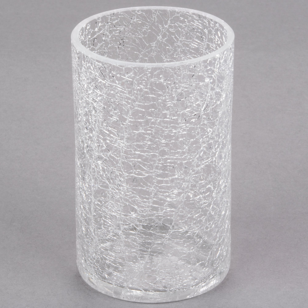 Sterno Products 80272 Clear Crackle One Piece Glass Liquid