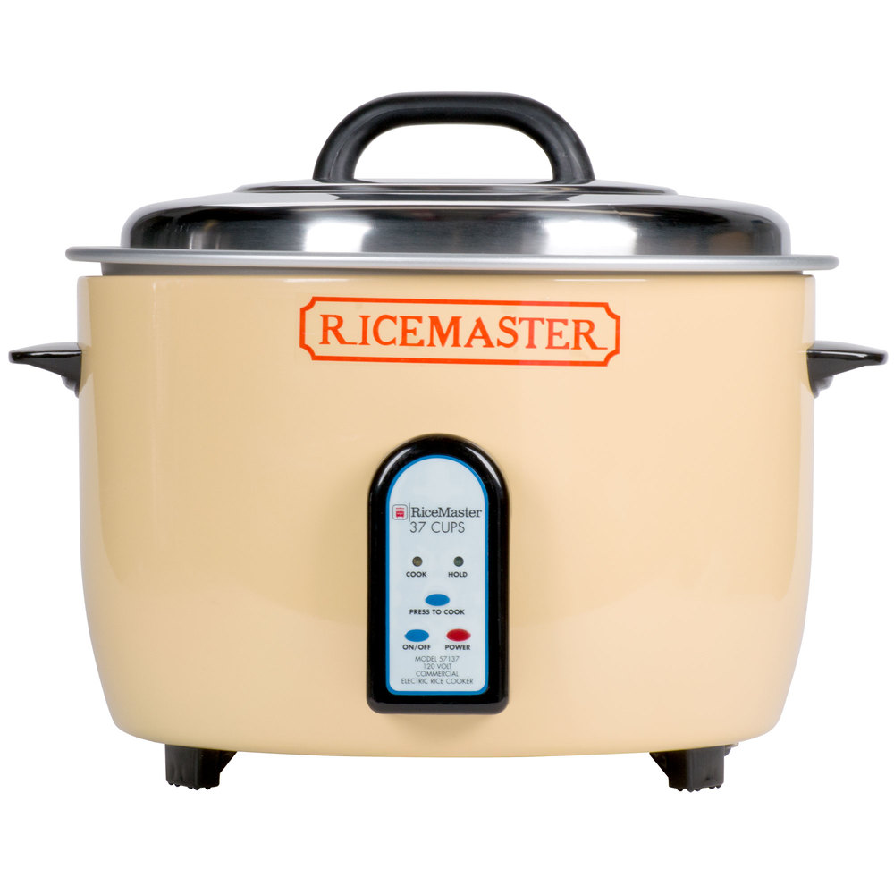 Town 57137 74 Cup  37 Cup Raw  Electric Rice Cooker