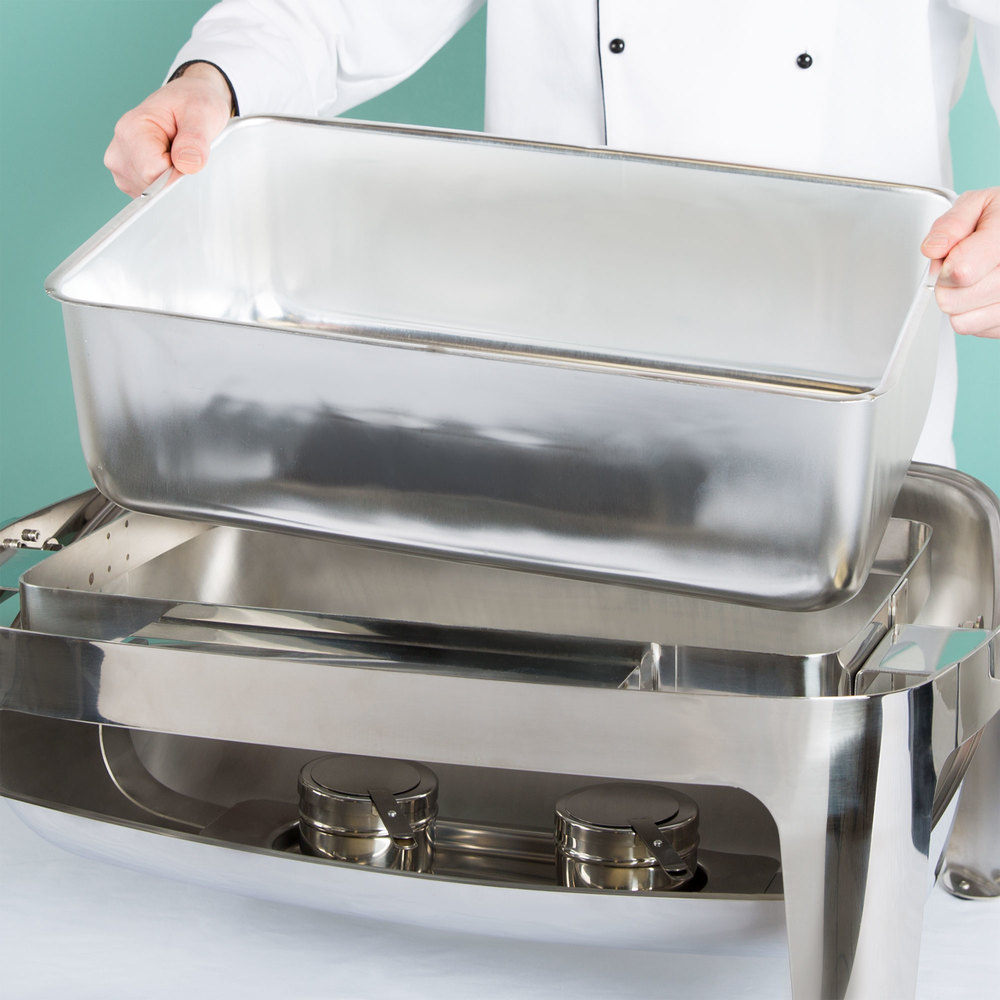 Full Size Aluminum Steam Table Spillage / Water Pan