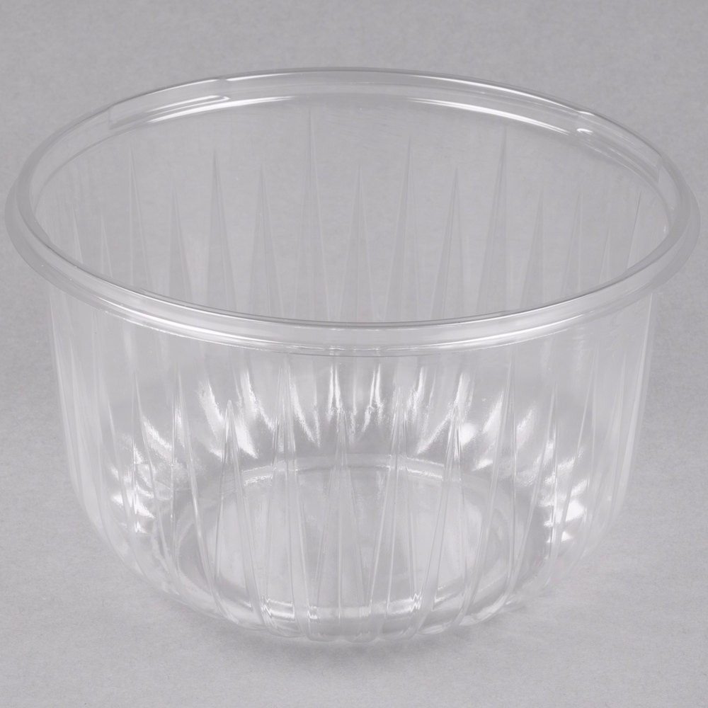 dart solo pet64b presentabowls 64 oz clear plastic bowl 252 case. Black Bedroom Furniture Sets. Home Design Ideas