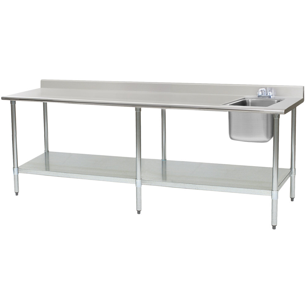 Stainless Steel Table Sink : ... T3096SEB-BS-E23 30