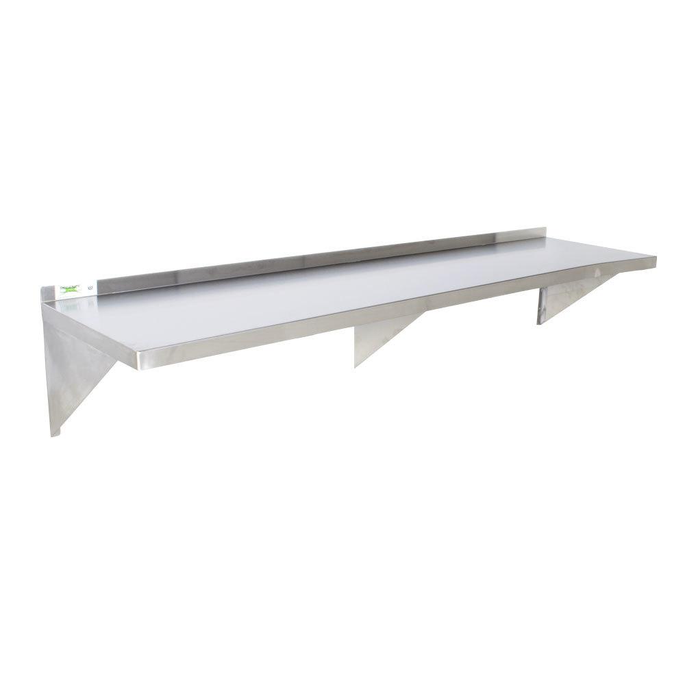 Regency 16 Gauge Stainless Steel 18 X 72 Heavy Duty Wall Shelf
