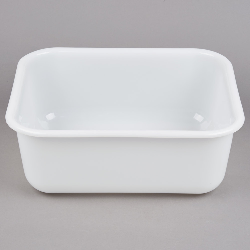 14 Quot X 13 Quot X 5 Quot Plastic White Storage Box