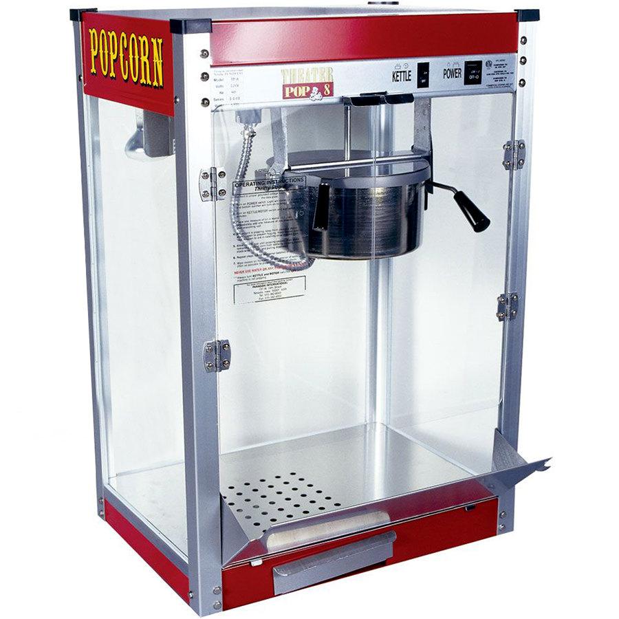 commercial popcorn machine