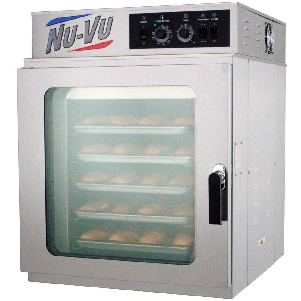 NU-VU RM-5T Full Size Electric Countertop Convection Oven - 240V, 1 ...
