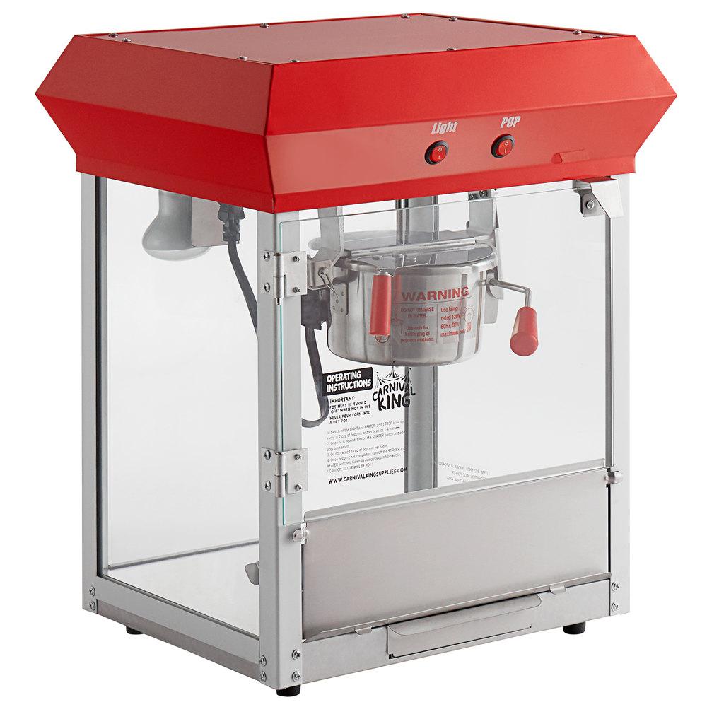Carnival King PM470 4 oz. Popcorn Machine / Popper - 120V, 470W