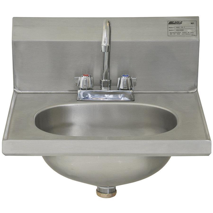 Eagle Sinks : Eagle Group HSAD-10-F 16 1/2