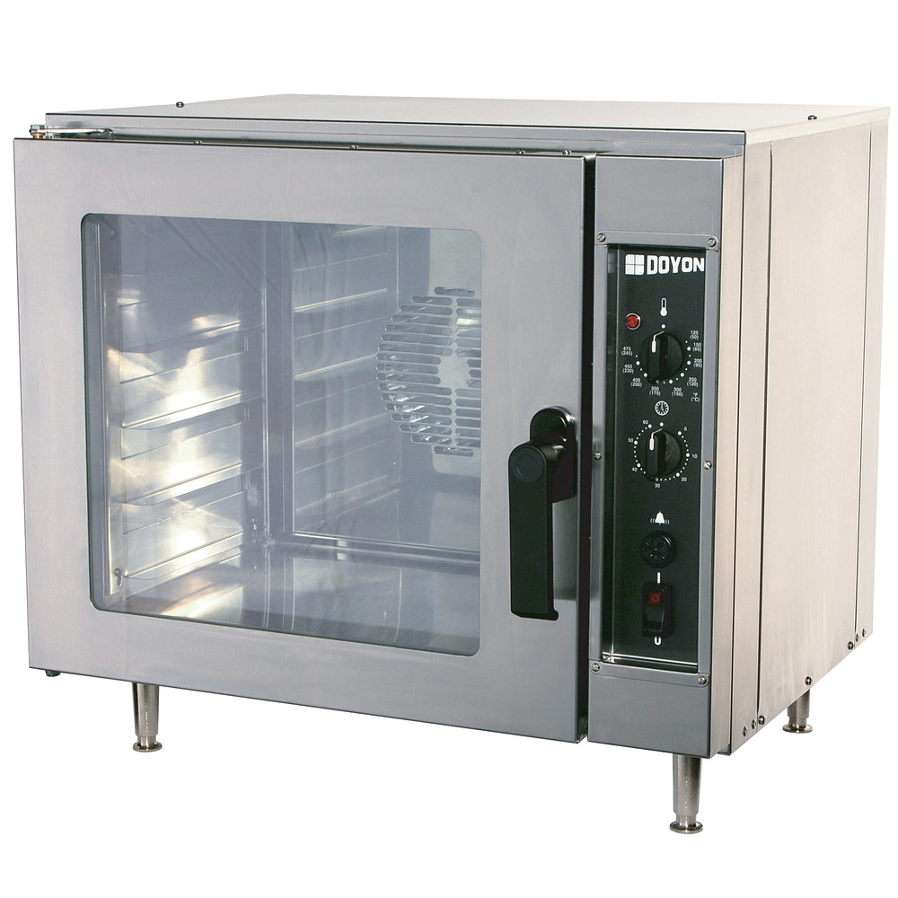 Electric Convection Oven ~ Doyon dco half size countertop electric convection oven