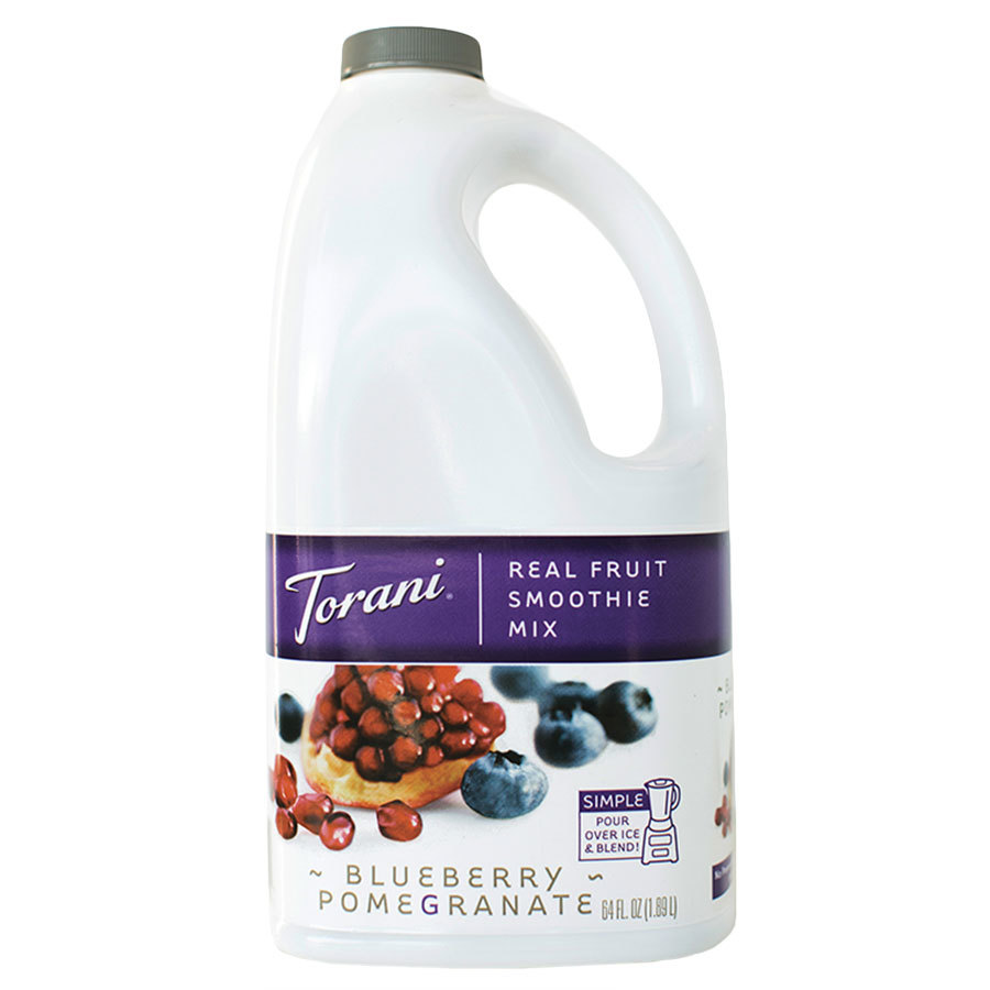 Torani 64 oz. Blueberry Pomegranate Smoothie Mix