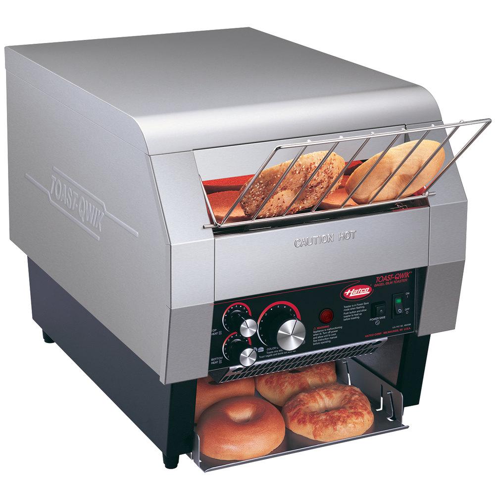 "Hatco TQ 400BA Toast Qwik e Side Conveyor Toaster 2"" Opening 120V"