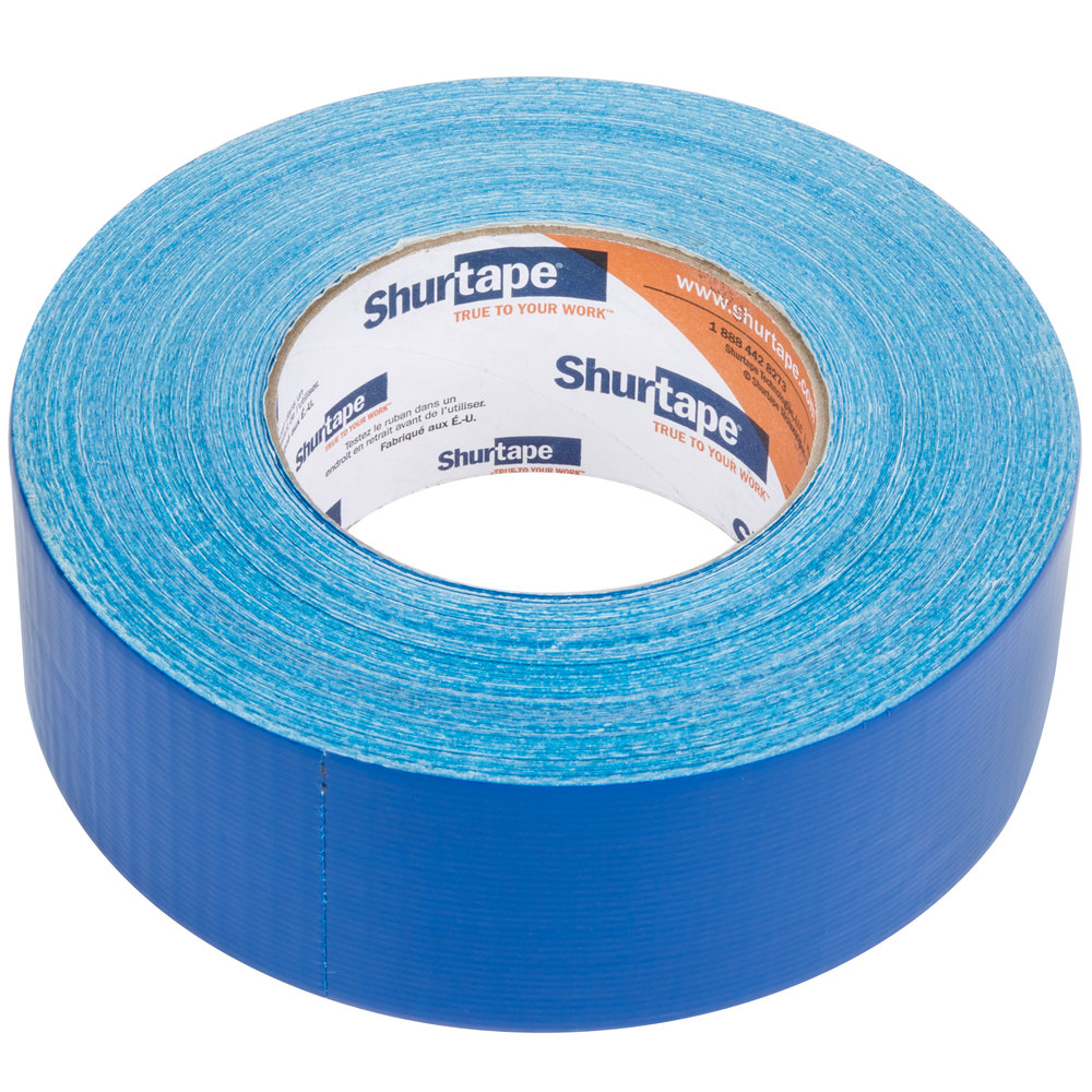 "Blue Duct Tape 2"" x 60 Yards (48 mm x 55 m) - General Purpose High Tack"