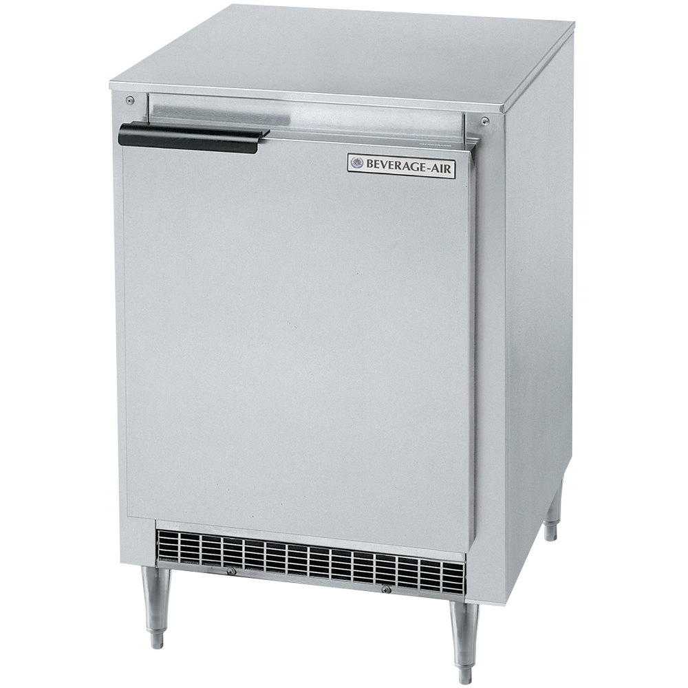 "Beverage Air UCF20 20"" Low Profile Undercounter Freezer - 2.7 Cu. Ft."