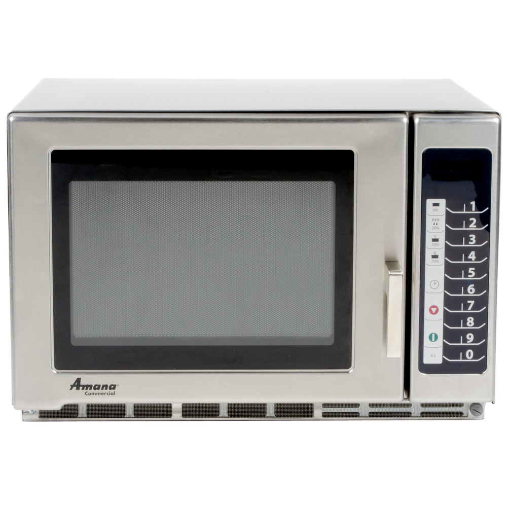 Amana Microwave Oven Repair: Amana RFS12TS Heavy Duty Stainless Steel Commercial