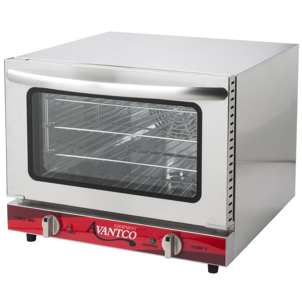 Commercial Countertop Convection Pizza Oven : ... CO-14 Quarter Size Countertop Convection Oven, 0.8 Cu. Ft. - 120V