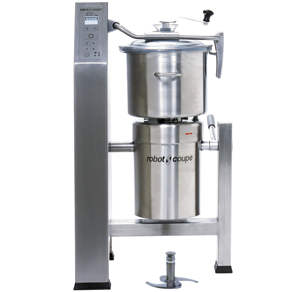Robot Coupe Blixer 30 Vertical Food Processor with 31 Qt. Stainless Steel Bowl and Two Speeds - 7 hp