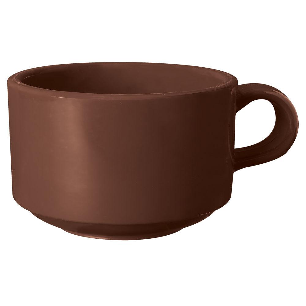 Get Sc 10 Br Ultraware 10 Oz Brown San Plastic Mug 24 Case