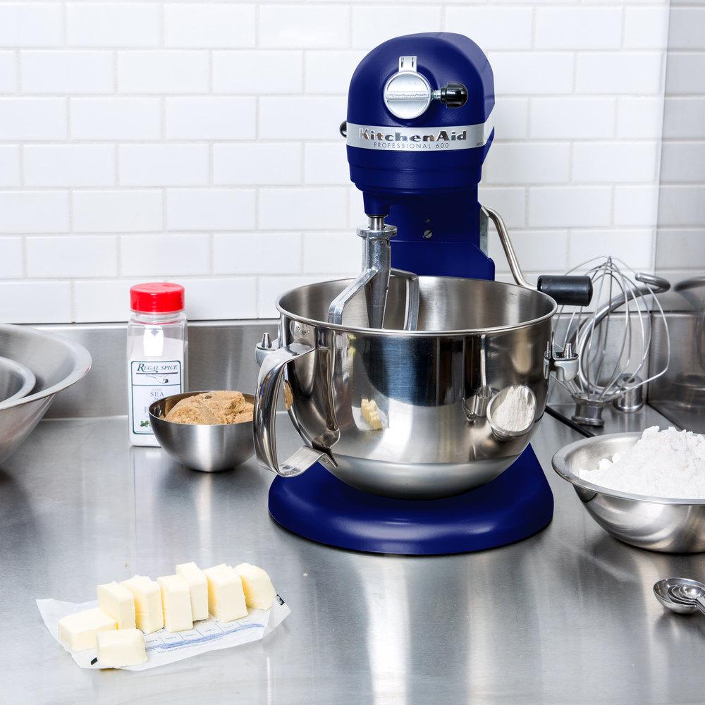 KitchenAid KP26M1XBU Cobalt Blue Professional 600 Series 6 Qt