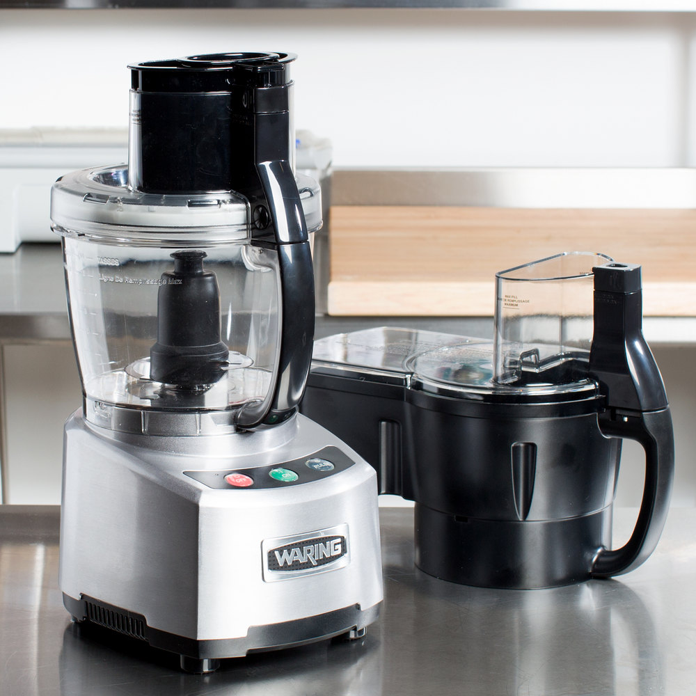 Food Processor Uses ~ Waring wfp scdc combination continuous feed food