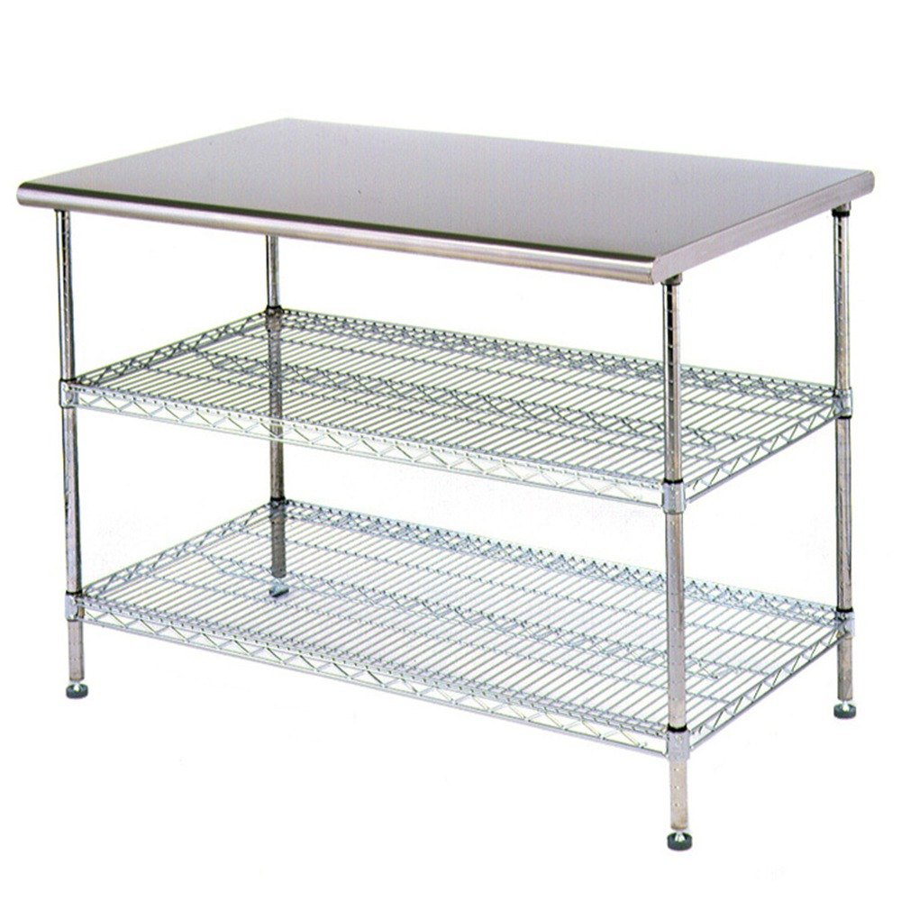 Eagle Group T2436ebw 24 Quot X 36 Quot Stainless Steel Table With