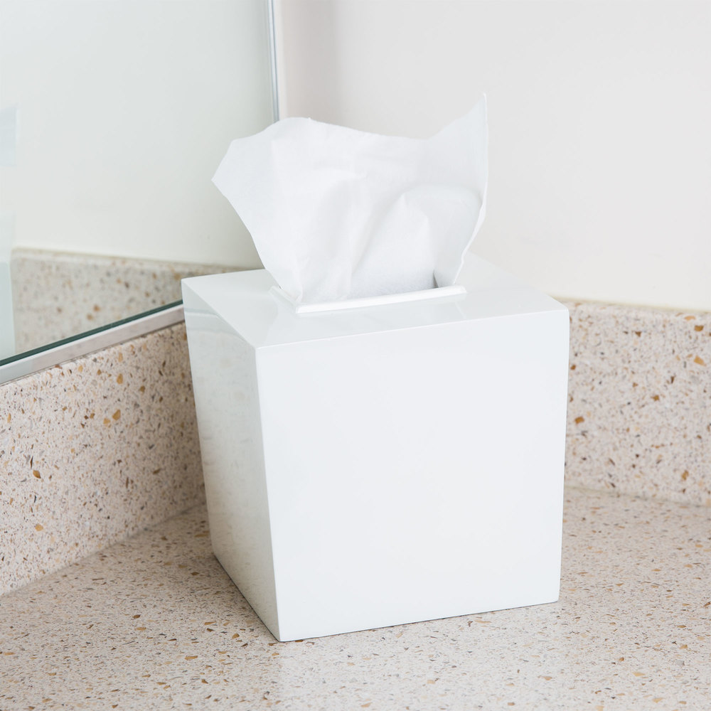 Bathroom Collections Bs Spa9w Spa White Hotel Tissue Box Cover