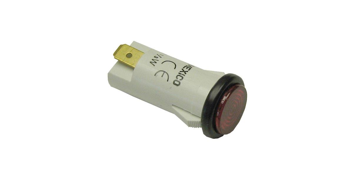 Blodgett 15673 125 Volt Red Round Indicator Light