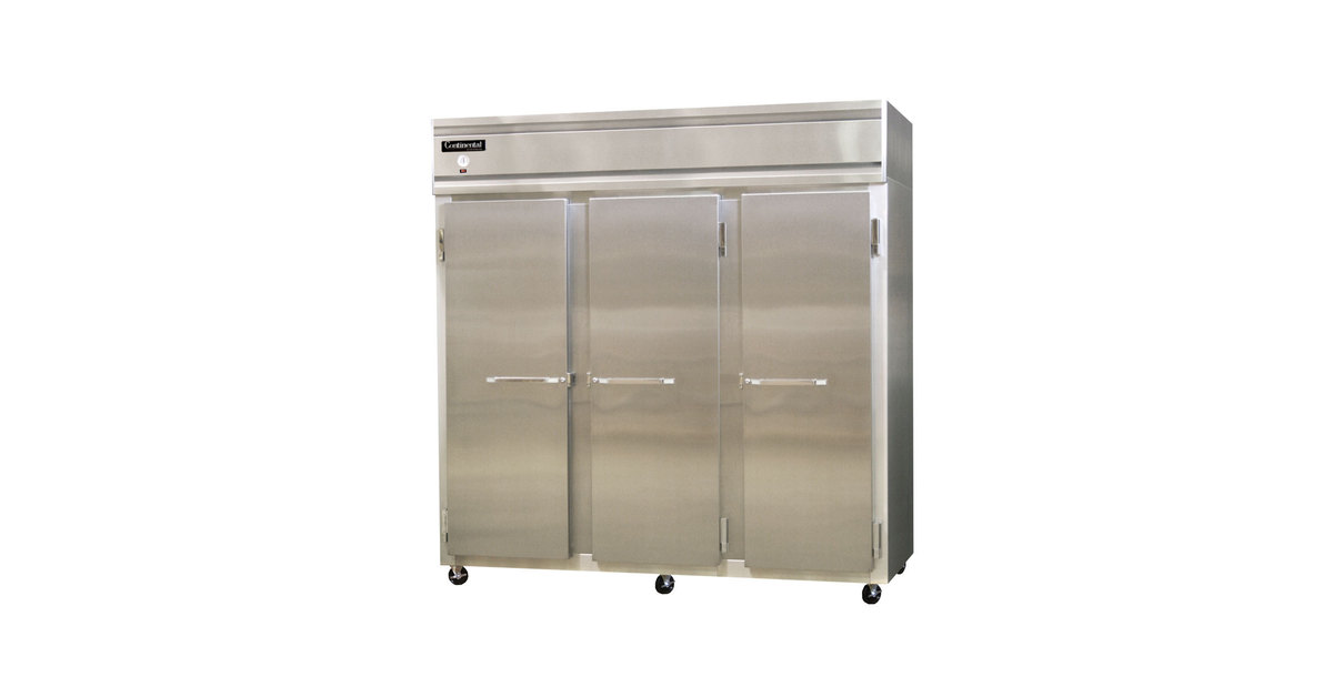 Continental refrigerator 3r 78 solid door reach in refrigerator asfbconference2016 Choice Image
