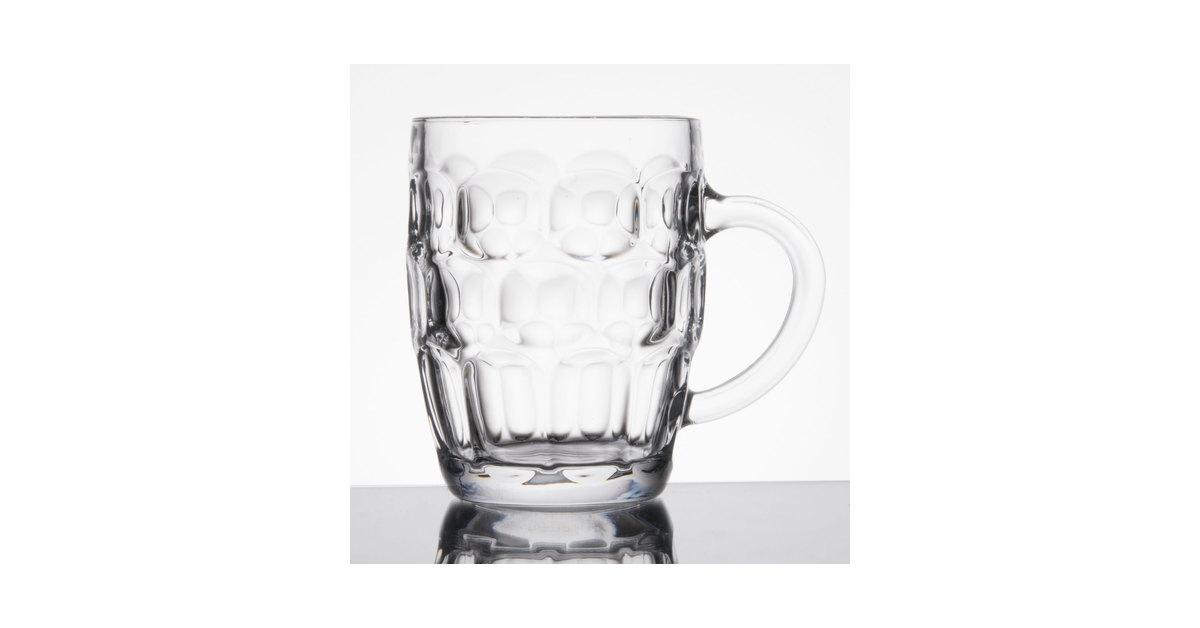 Acopa 19 25 oz  Dimple Beer Mug - 12/Case