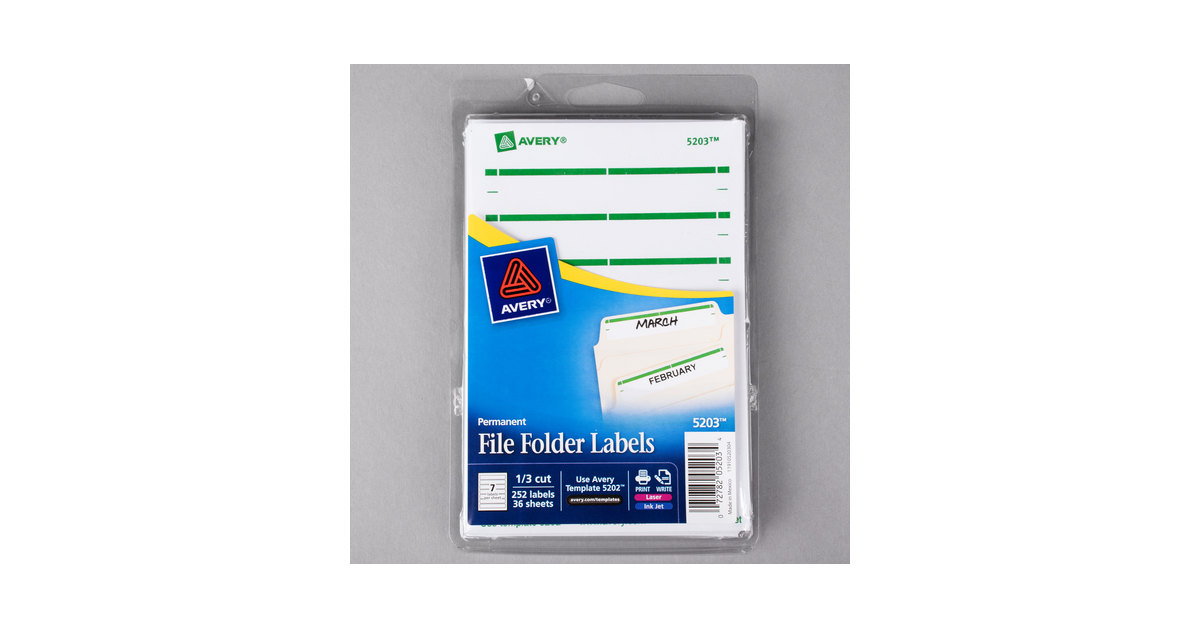 File Folder Label Templates. download free office and organizing ...