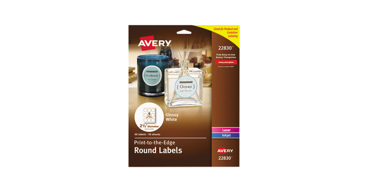Avery 22830 2 1/2