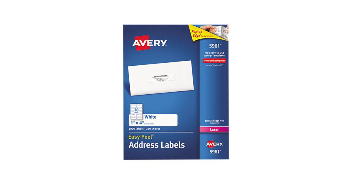 Avery Template 5961 Lovely Sensors Avery 5161 Label Template Avery