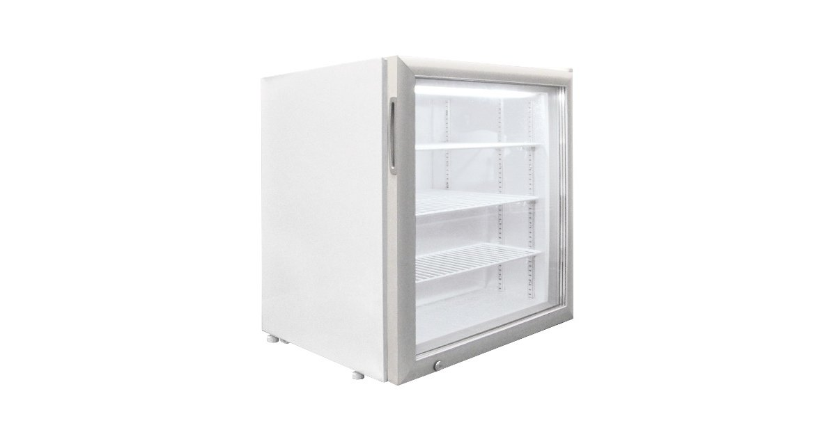 Excellence Ctf 3hc White Countertop Display Freezer With Swing Door 3 2 Cu Ft