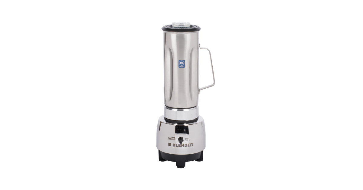 950176 waring hgbss half gallon blender with stainless steel jar  at virtualis.co