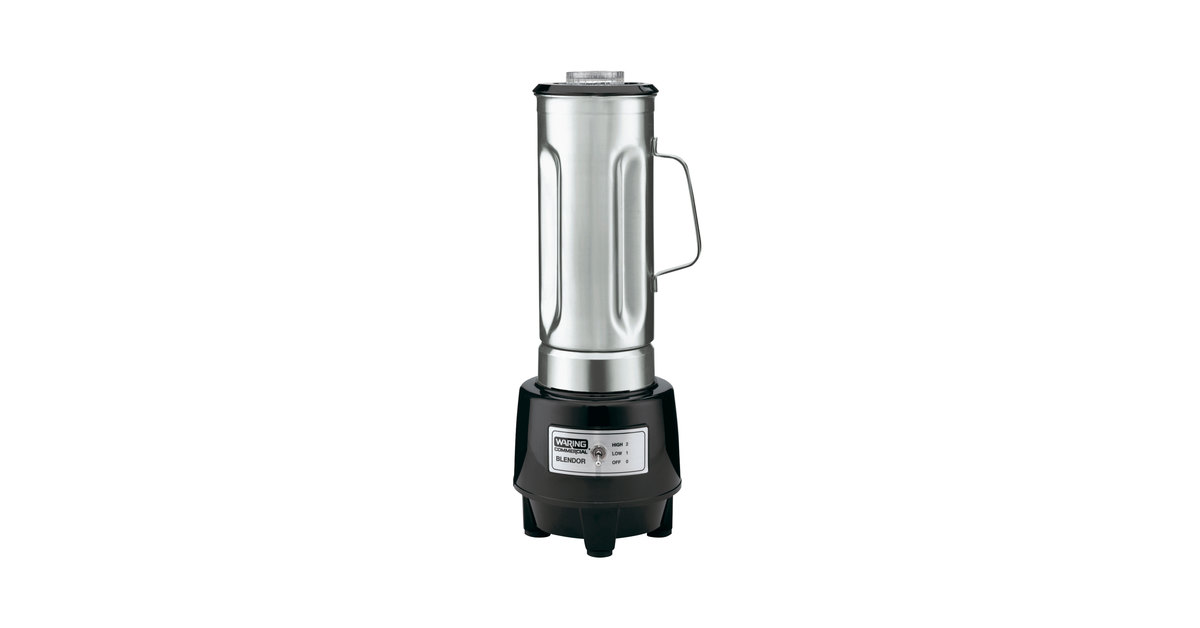 898468 waring hgb150 1 hp commercial food blender with 64 oz stainless  at n-0.co