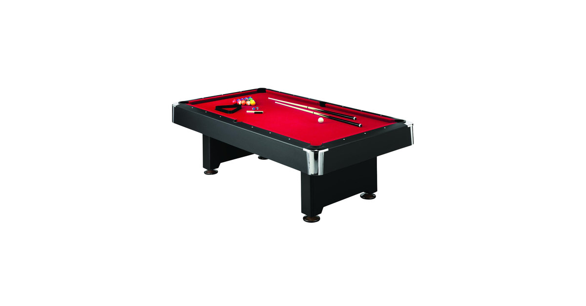 Mizerak P5223W1 Donovan II 8u0027 Slate Billiard / Pool Table With Accessories