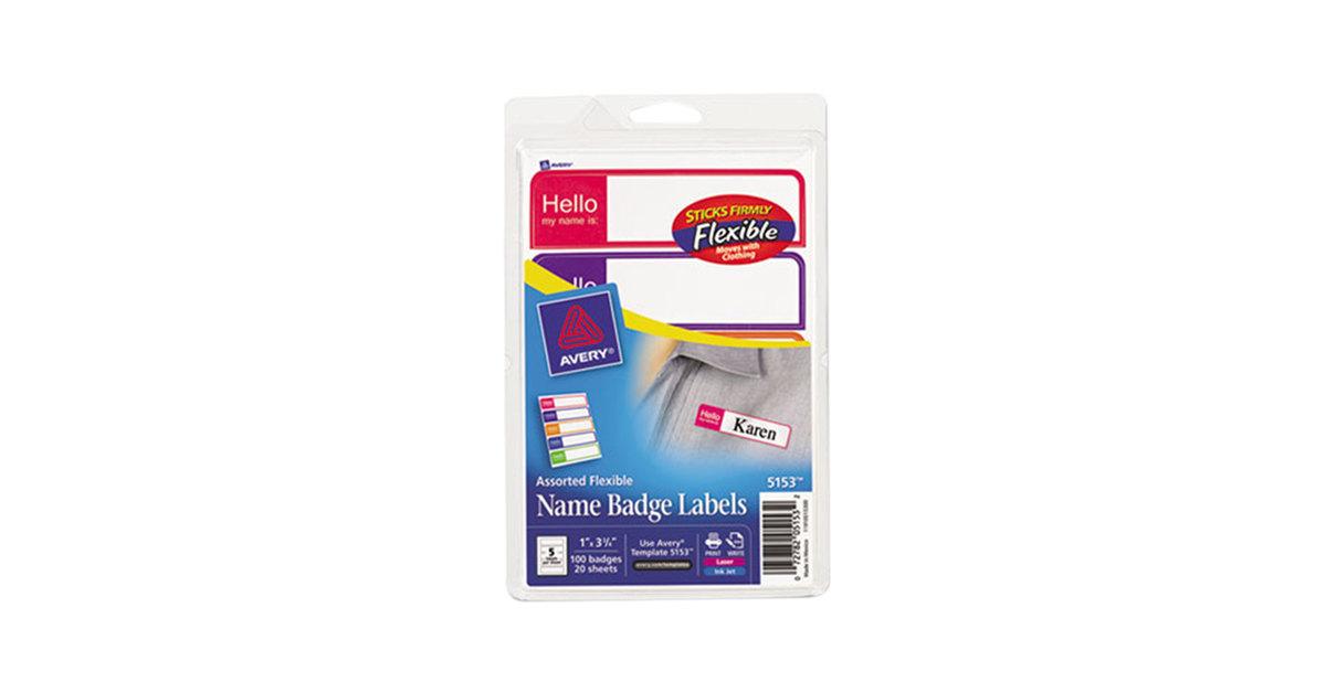 Name Badge Kits | WebstaurantStore
