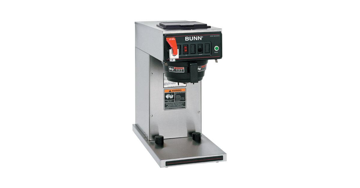 Bunn Coffee Maker Calibration : Bunn Cw Series Wire Diagram - Wiring Diagram Schemes