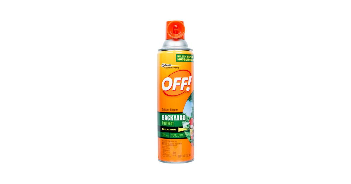 SC Johnson OFF!® 617454 16 oz  Outdoor Fogger - 12/Case