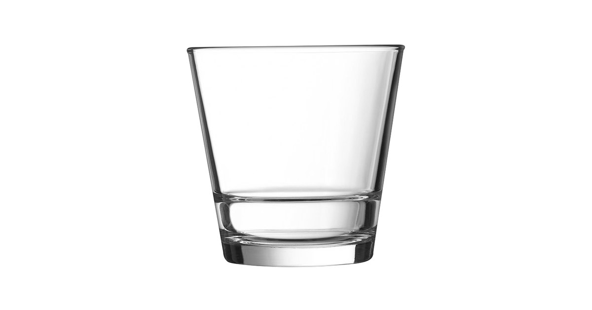 Arcoroc H5169 Stack Up 12 oz  Double Old Fashioned Glass by Arc Cardinal -  12/Case