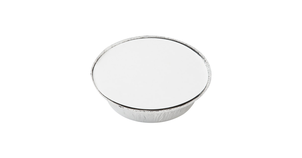 7 Round Foil Take Out Pan With Board Lid