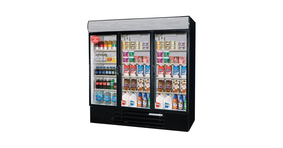 Commercial Glass Door Refrigerator | Glass Door Merchandiser