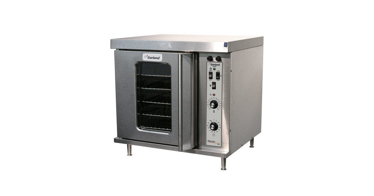 Garland MCO-E-5-C Single Deck Half Size Electric Convection Oven - on