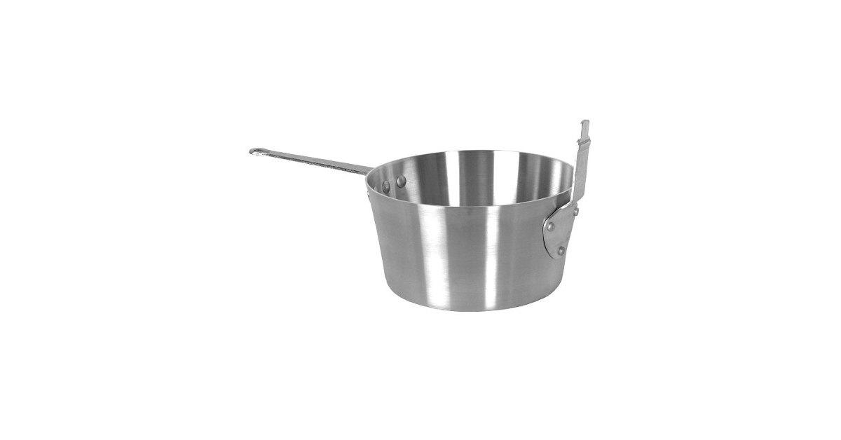 Aluminum Fry Pot Basket Deep Fryer Frying Pan Cooker Cookware Pots 10 Qt Baskets