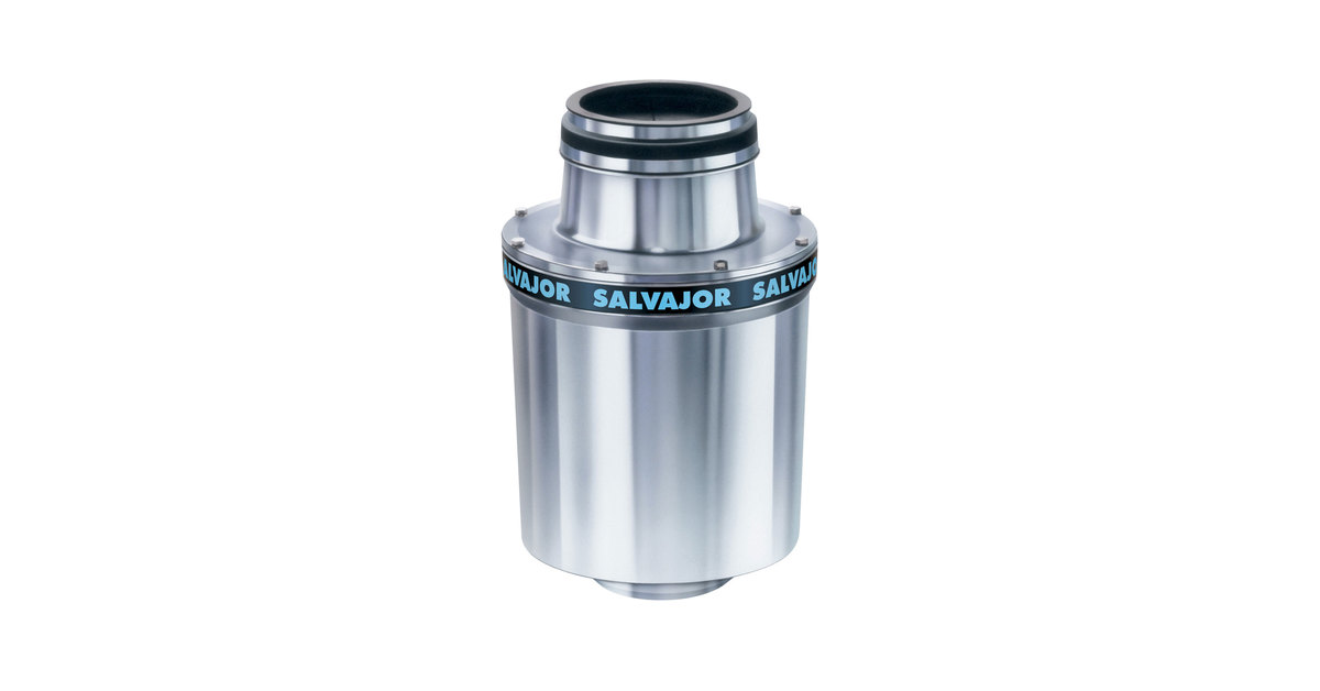 Salvajor 300 Commercial Garbage Disposer - 208V, 3 Phase, 3 hp on