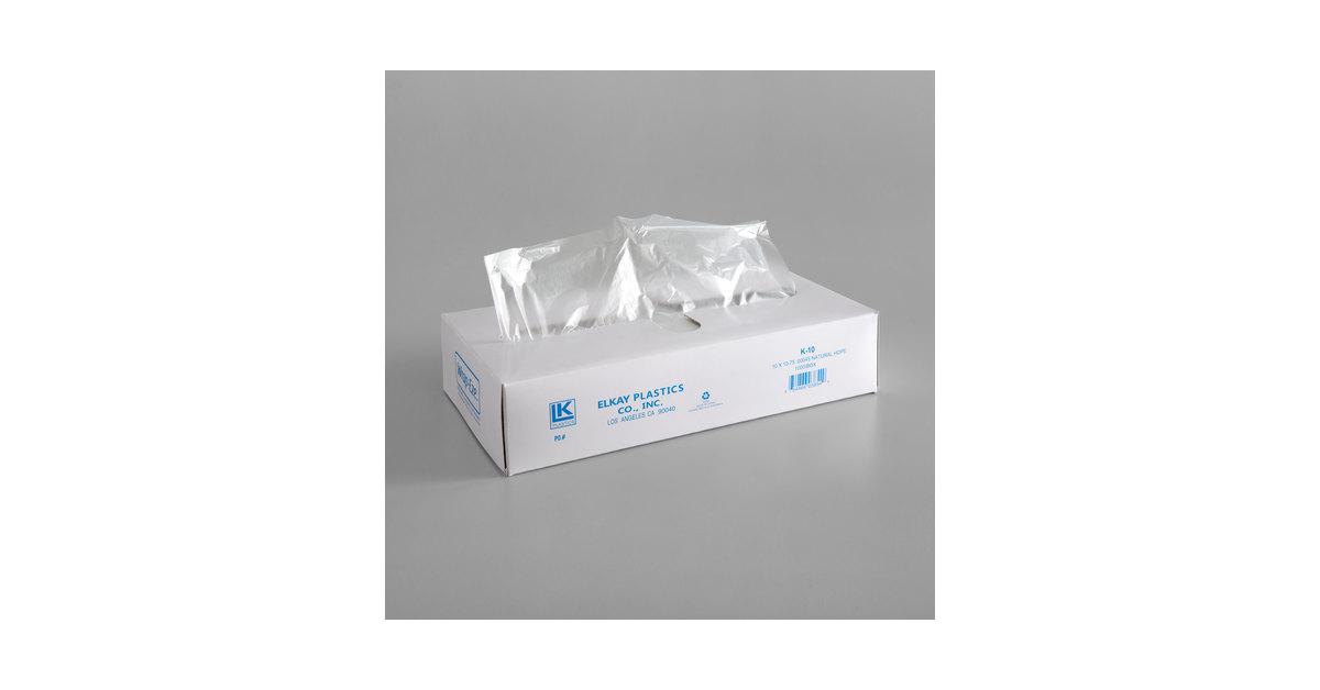 Kitchen, Dining & Bar Kitchen Storage & Organization Interfolded  Plastic clear Bakery Deli Wrap 10 x 10-3/4  CP10 1000 sheet/pack